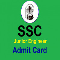 SSC JE Admit Card 2016-17