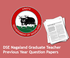 DSE Nagaland Teacher Previous Papers