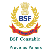 BSF Constable Previous Papers 2017