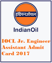 IOCL Jr Engineering Assistant Admit Card