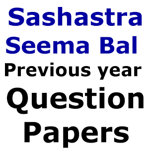 SSB Sub Inspector Previous Papers