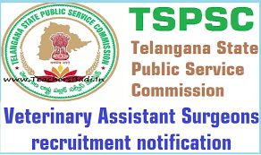 TSPSC Veterinary Assistant Surgeon Recruitment