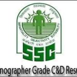 SSC Stenographer Group C Result 2017-18 | Get SSC Steno Group D Merit List