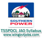 TSSPDCL JAO Syllabus 2018 – Get Telangana SPDCL Junior Accounts Officer Exam Pattern
